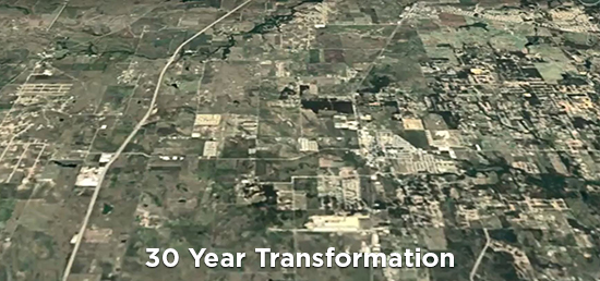 Then and Now - 30 Year Transformation of AllianceTexas